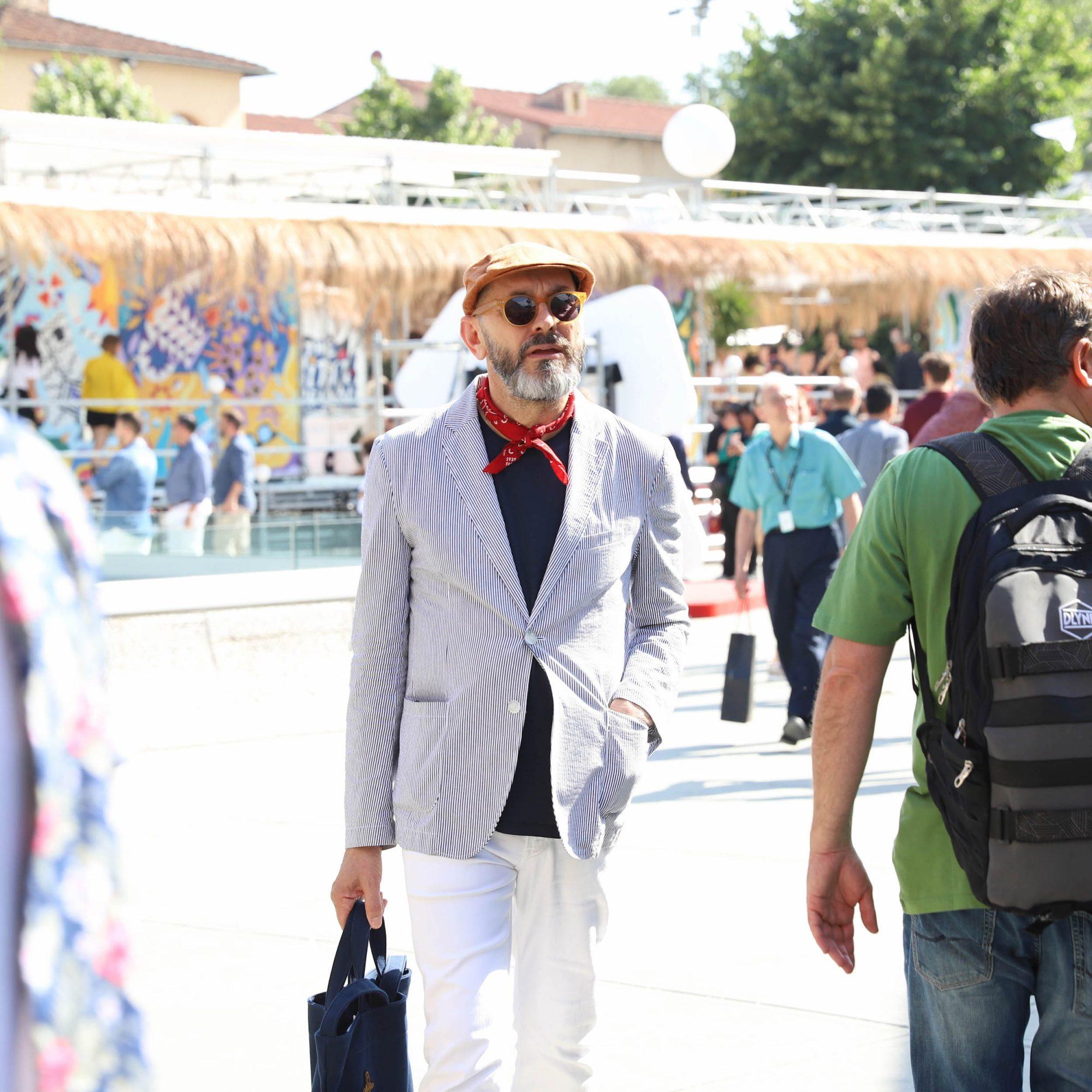 look homme foulard