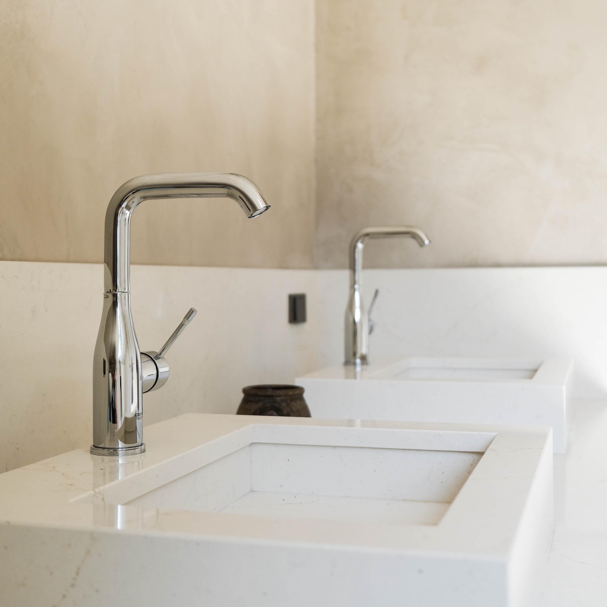 salle de bain robinetterie maison