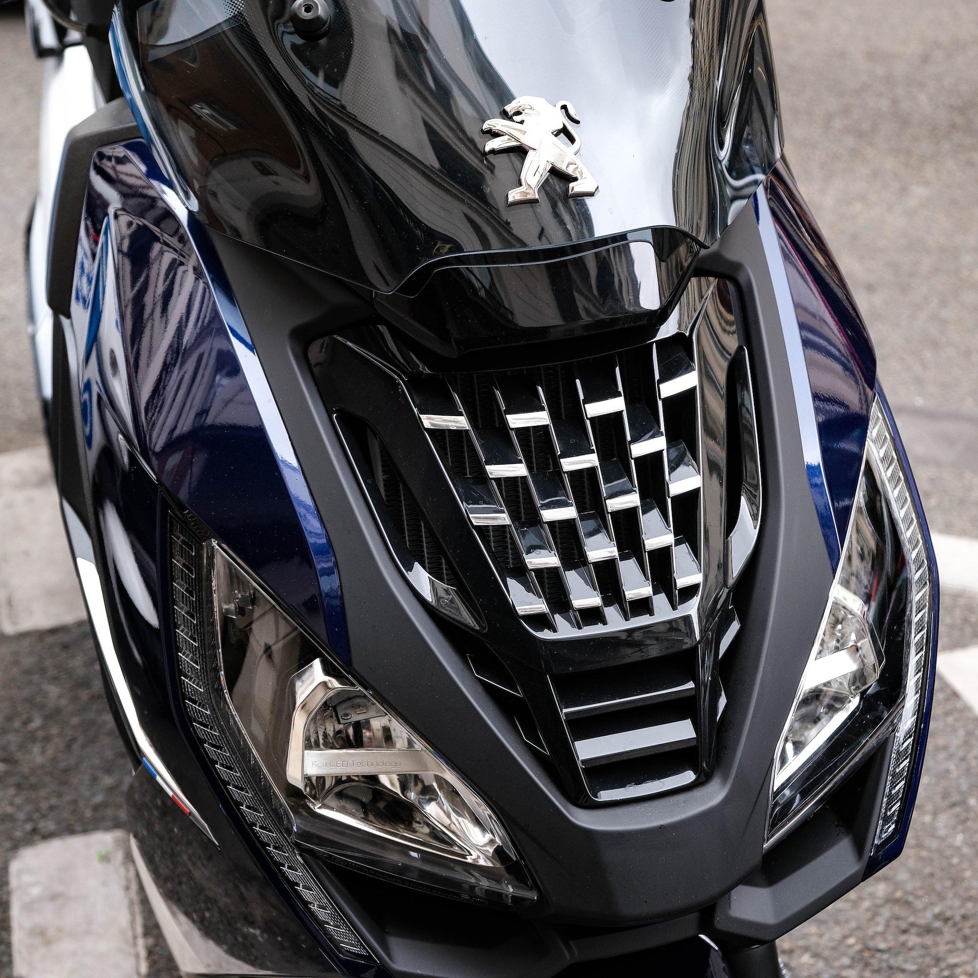 Peugeot Pulsion calandre avant