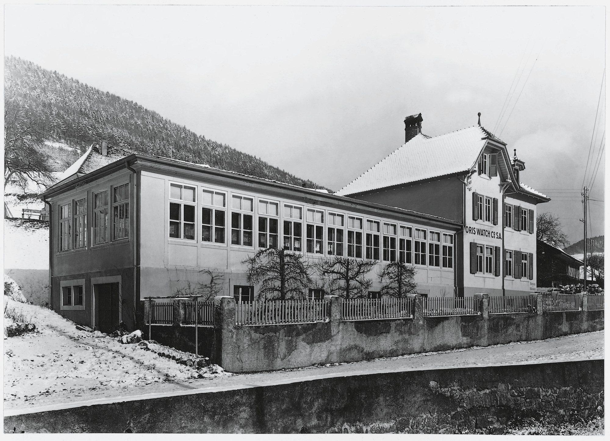Usine Oris de Ziefen en 1925