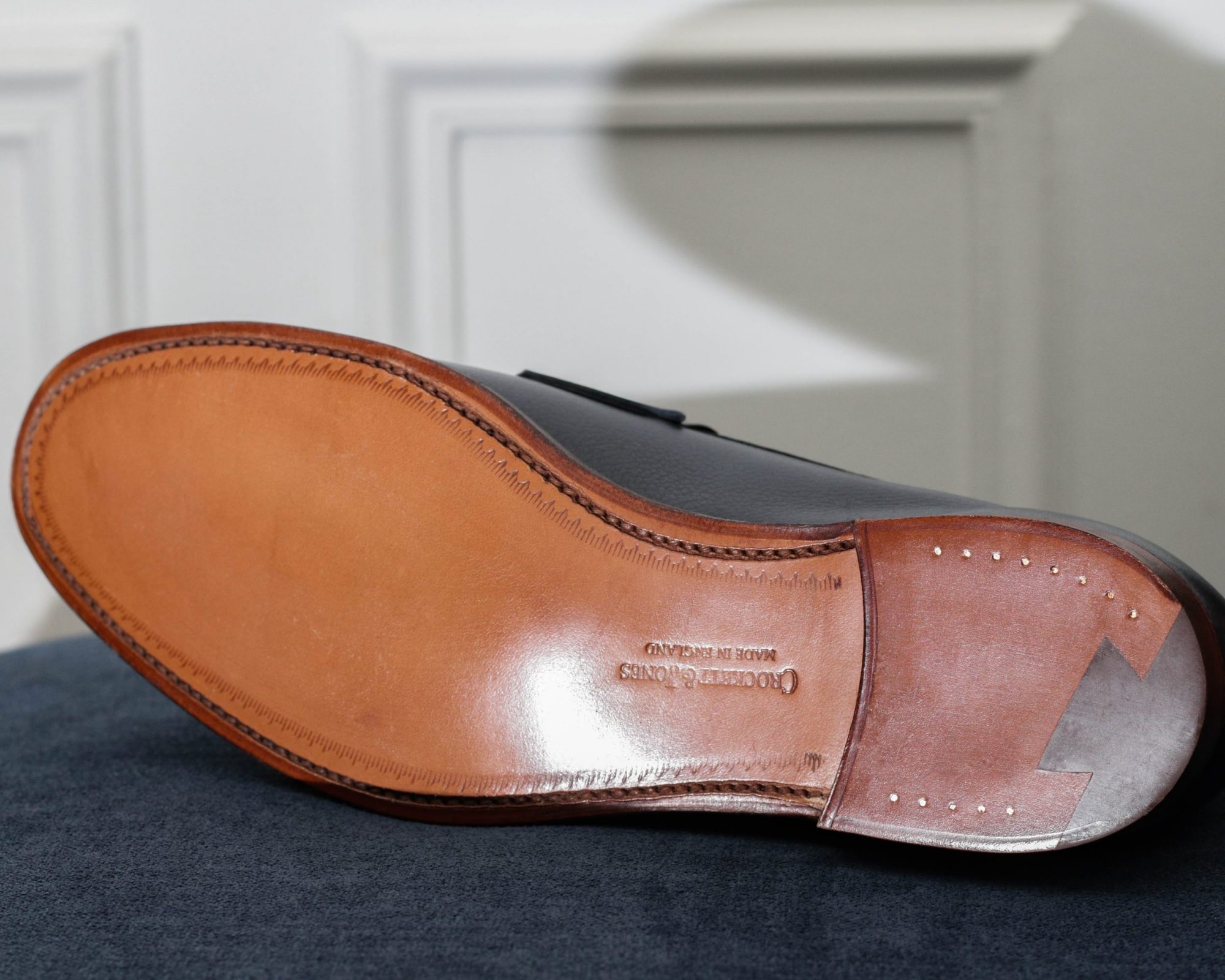 Semelle chaussure cousu goodyear