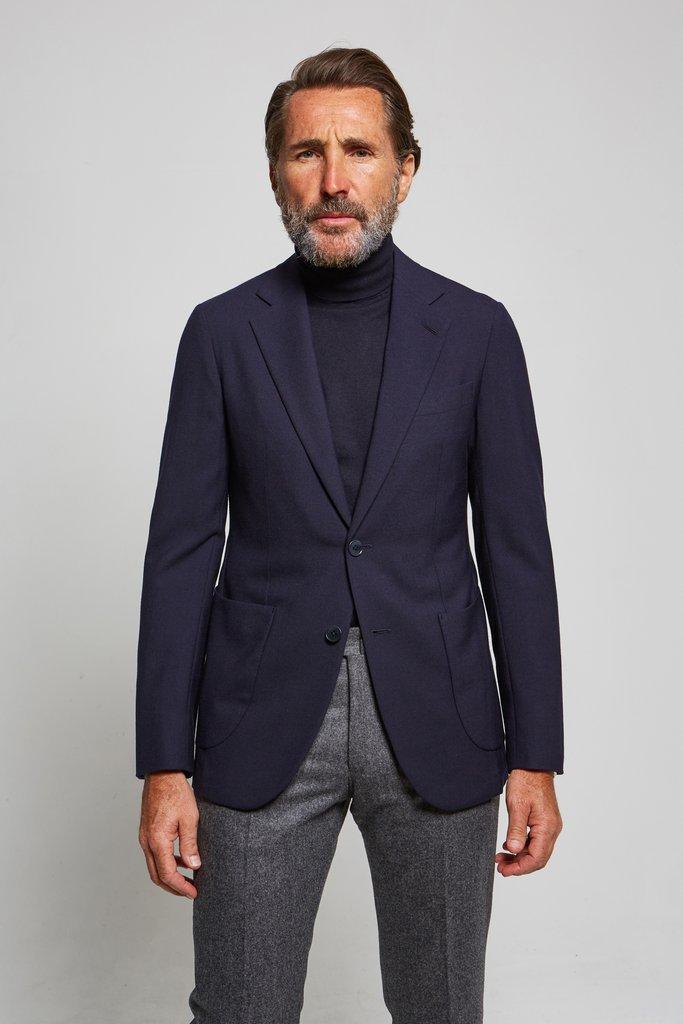 blazer bleu marine homme cowt
