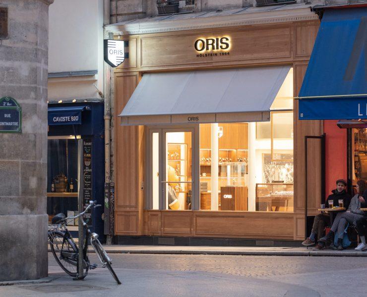 boutique oris Paris