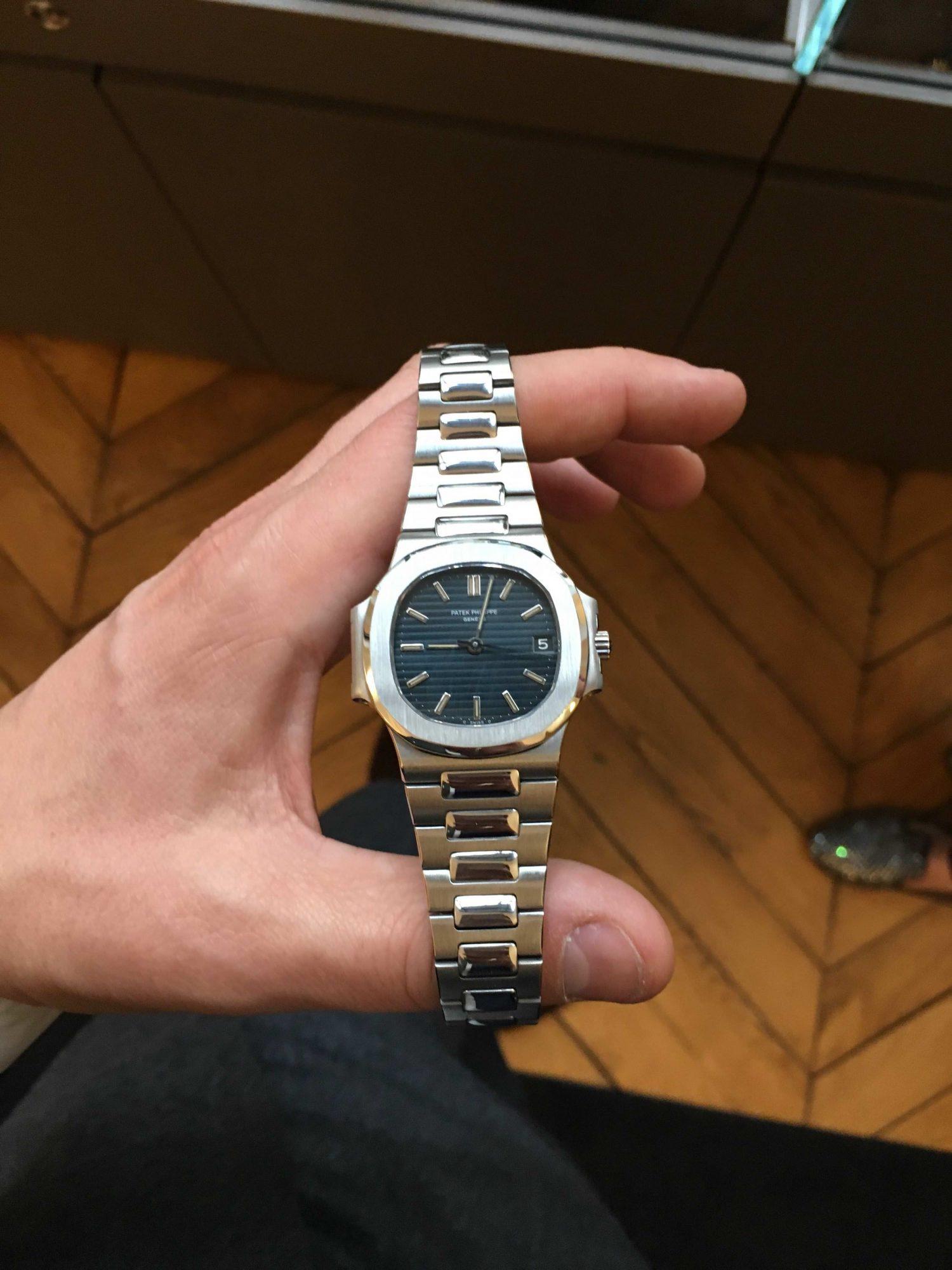 bracelet Nautilus Patek Philippe