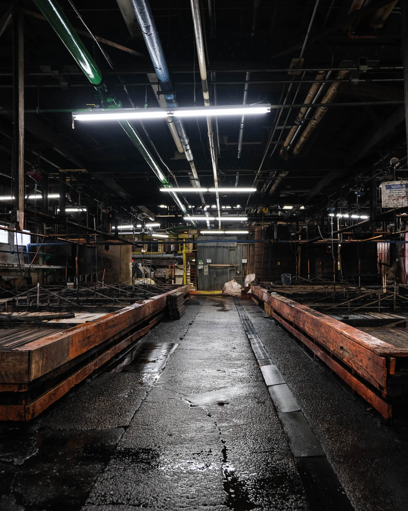 trempage peaux tannerie horween