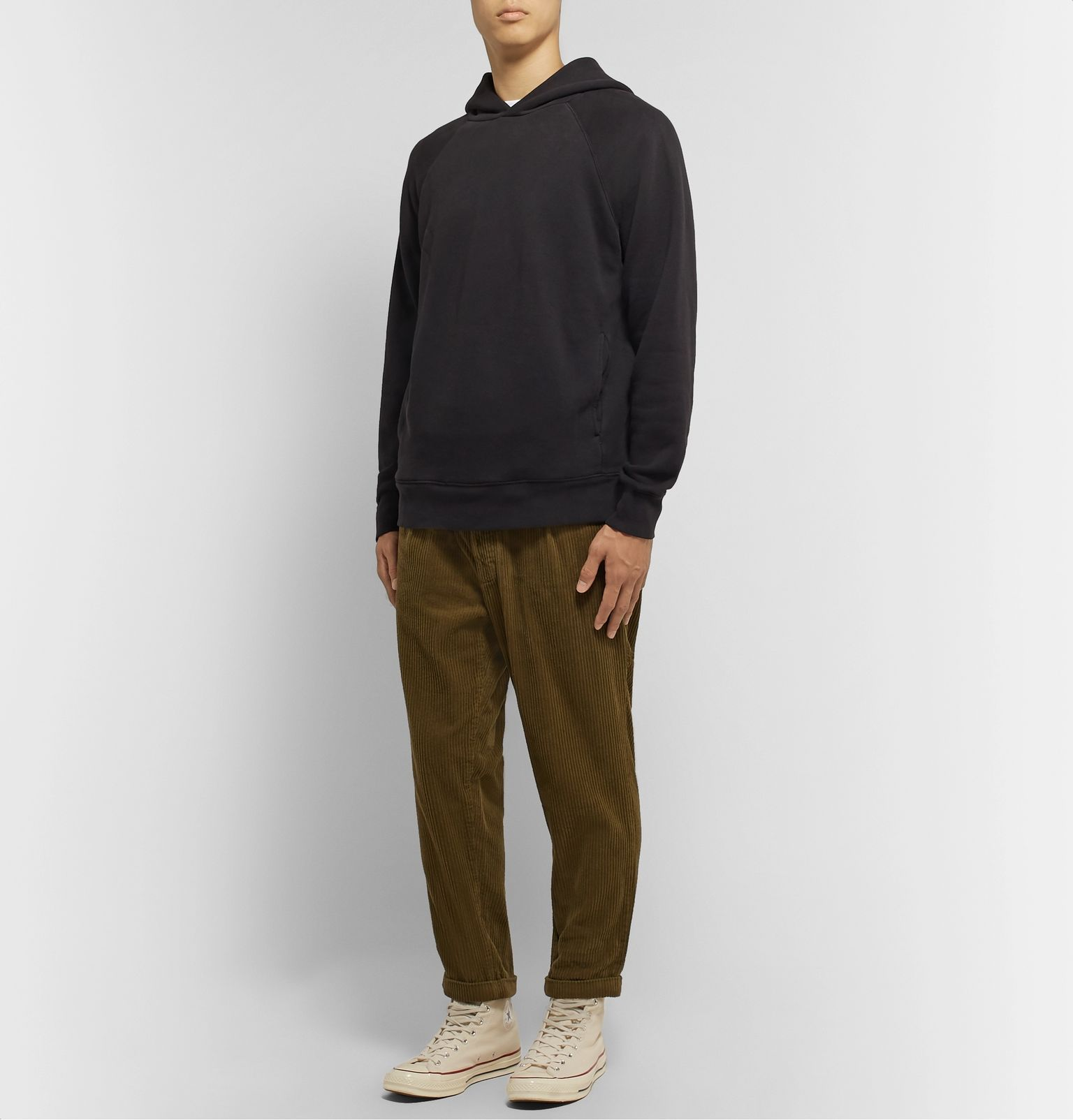 look sweat a capuche homme
