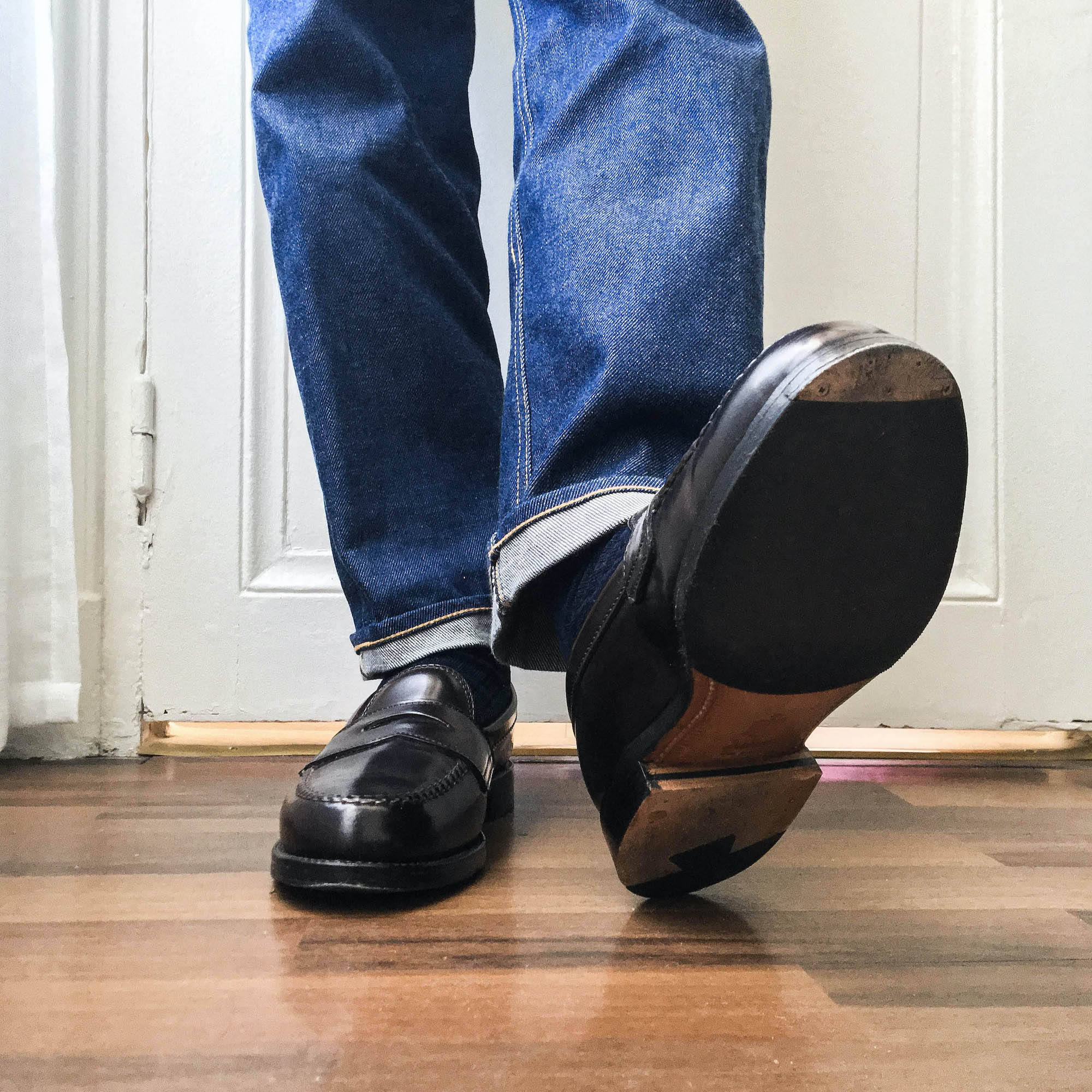Alden Penny loafer 986 cordovan porte