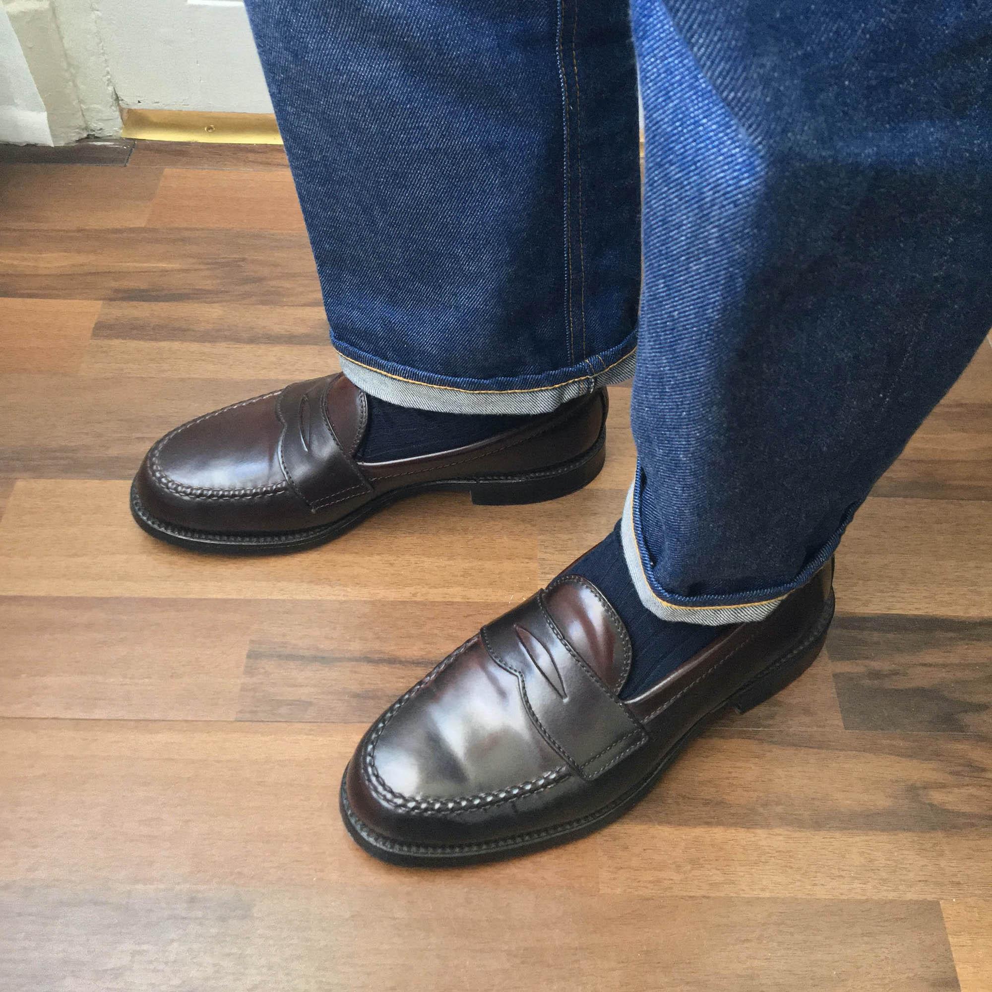 Alden Penny loafer 986 cordovan