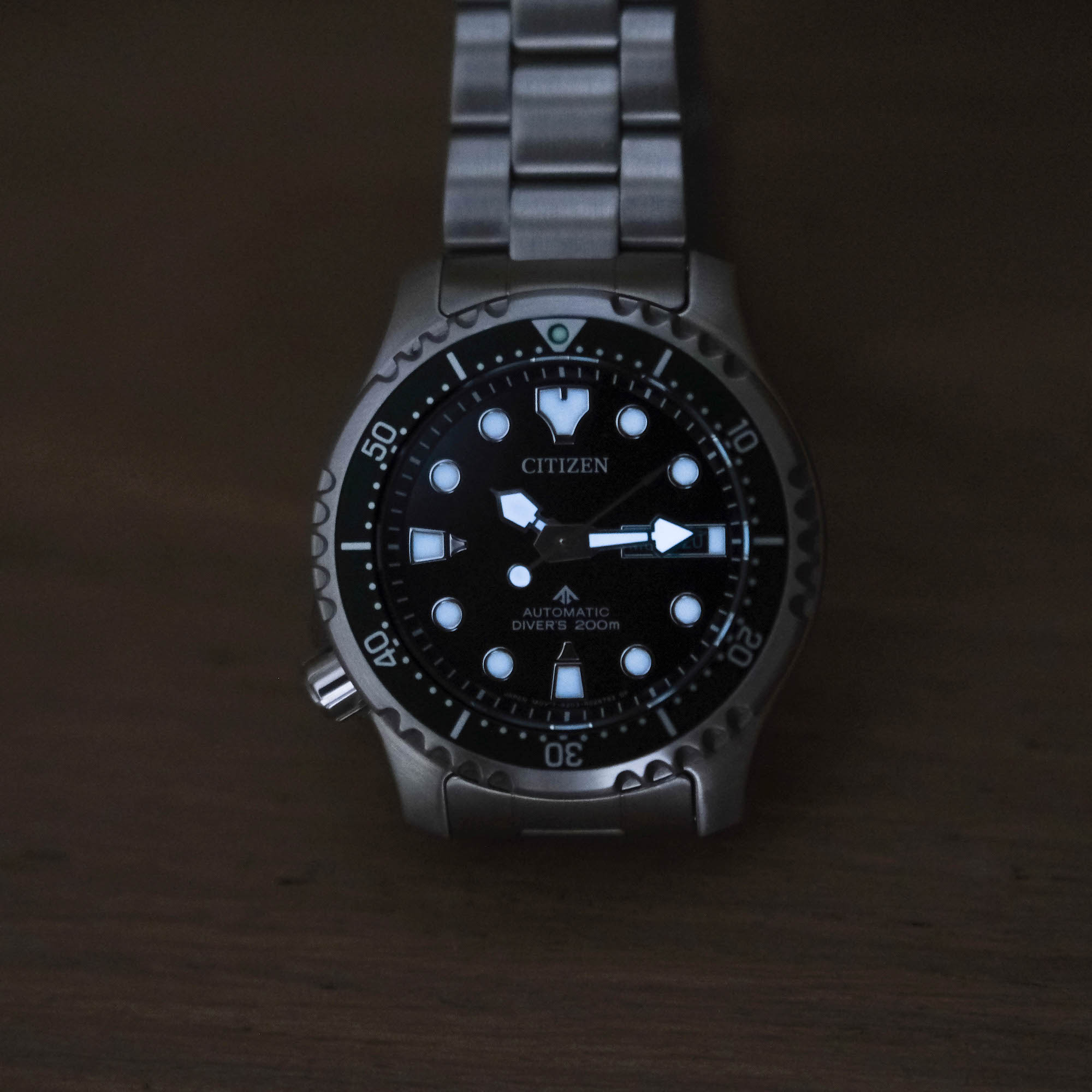 Luminova Citizen Promaster Diver Automatic NY0084-89E