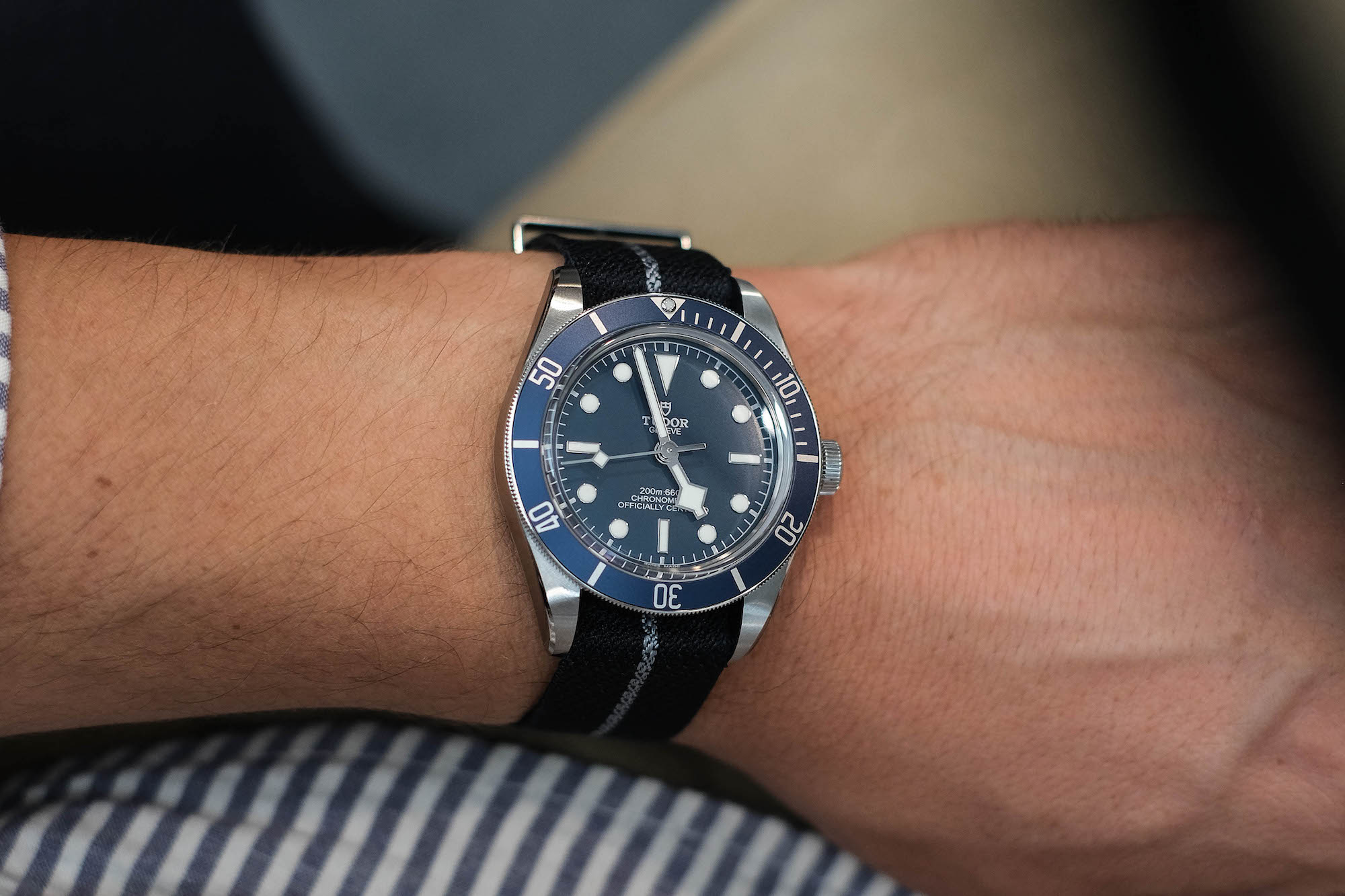 Cadran Tudor black bay fifty eight navy blue M79030B