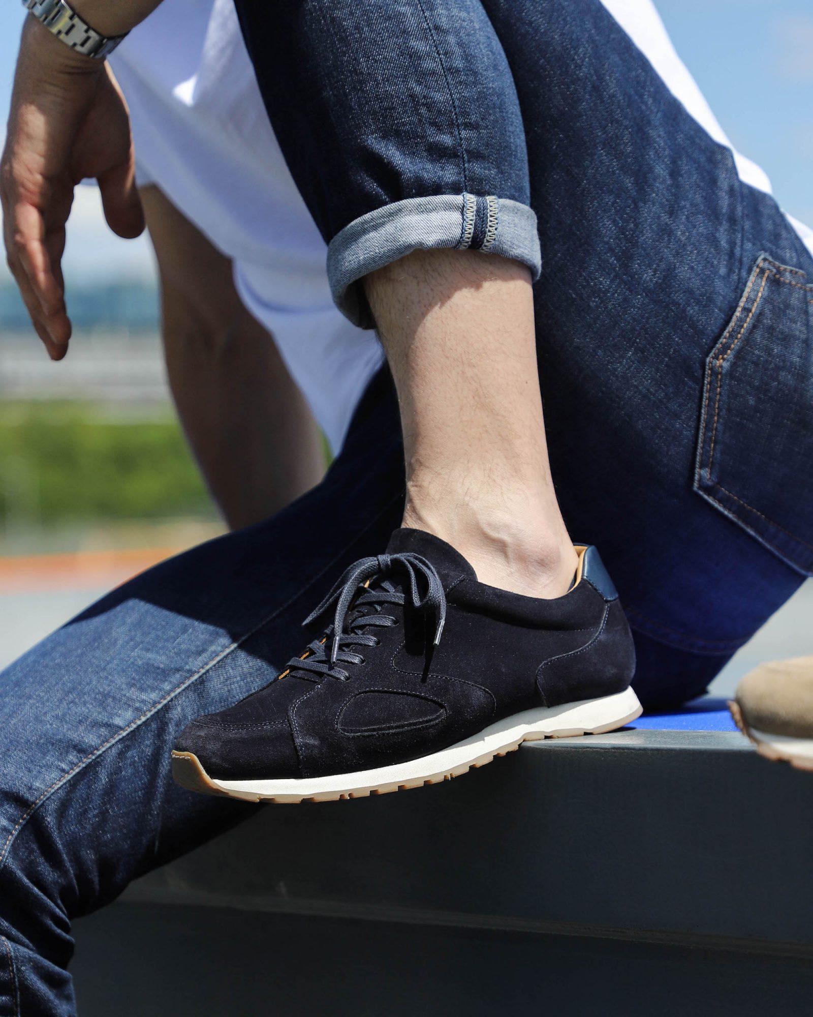 Malfroid Sneakers 310 bleu marine