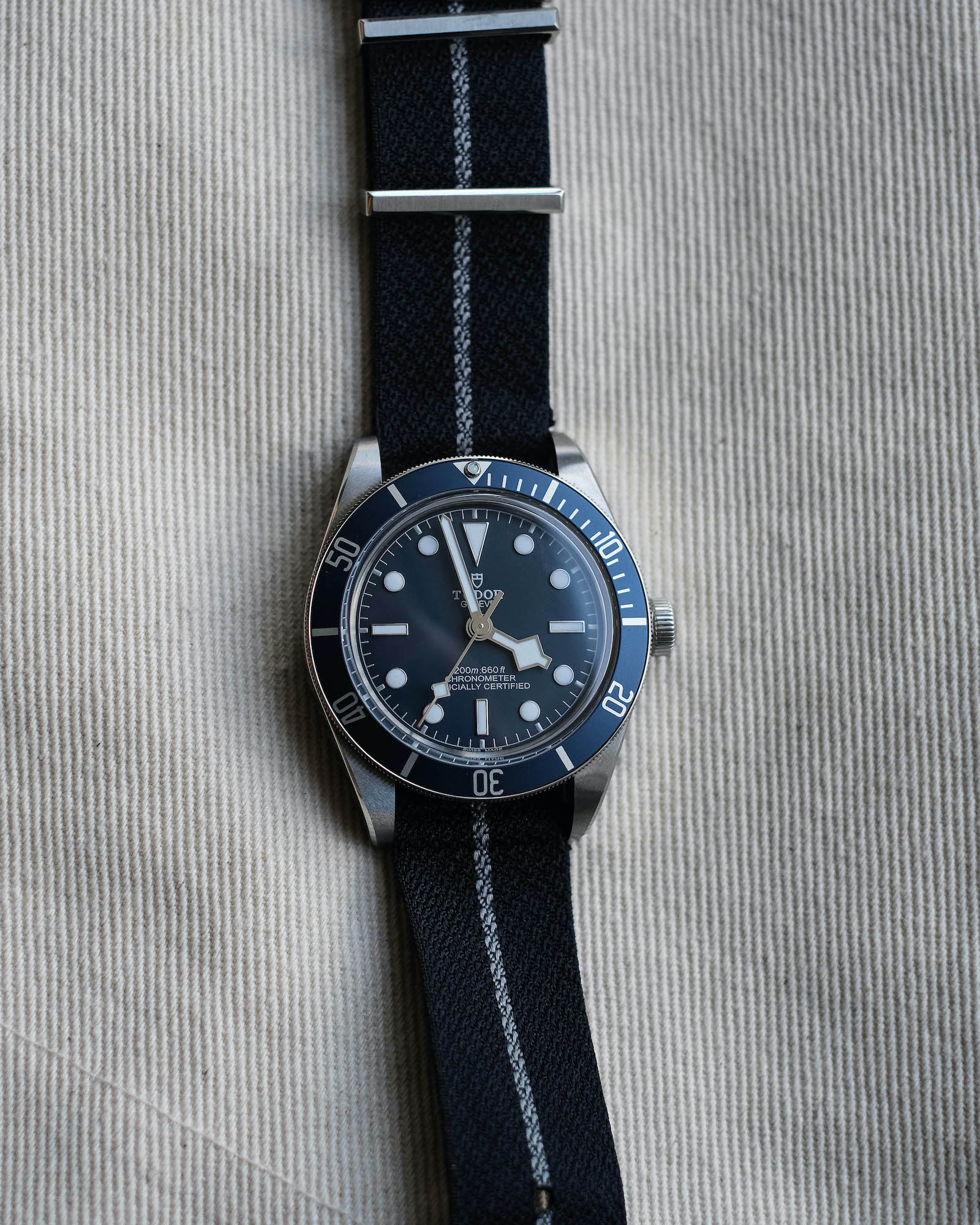 Tudor black bay fifty eight navy blue M79030B