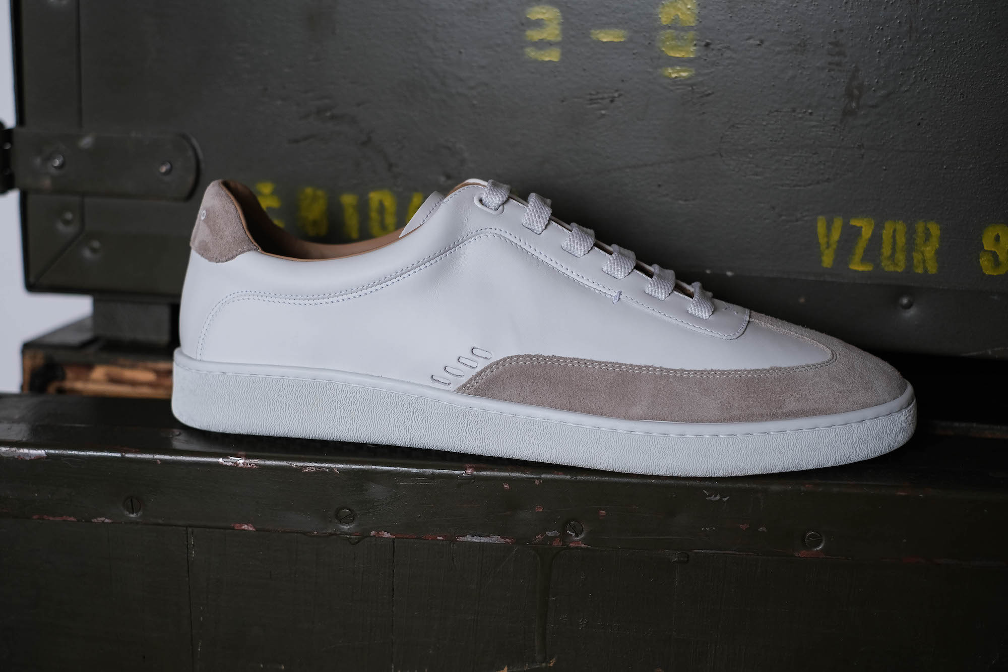 sneakers maxime in corio blanches
