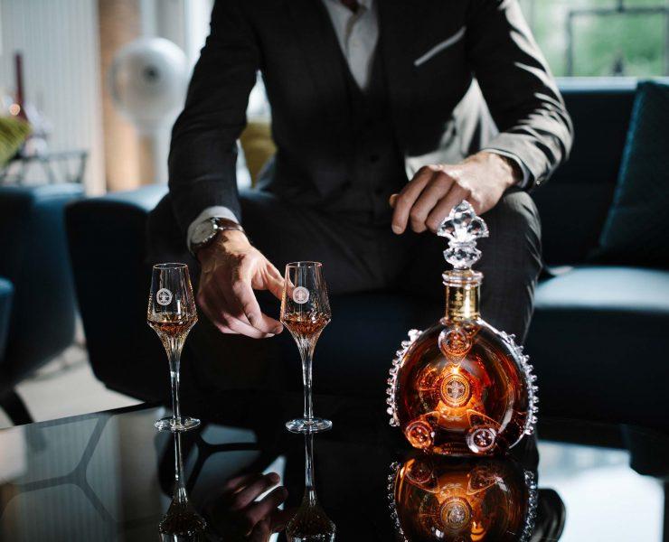 degustation louis XIII cognac bouteille cristal