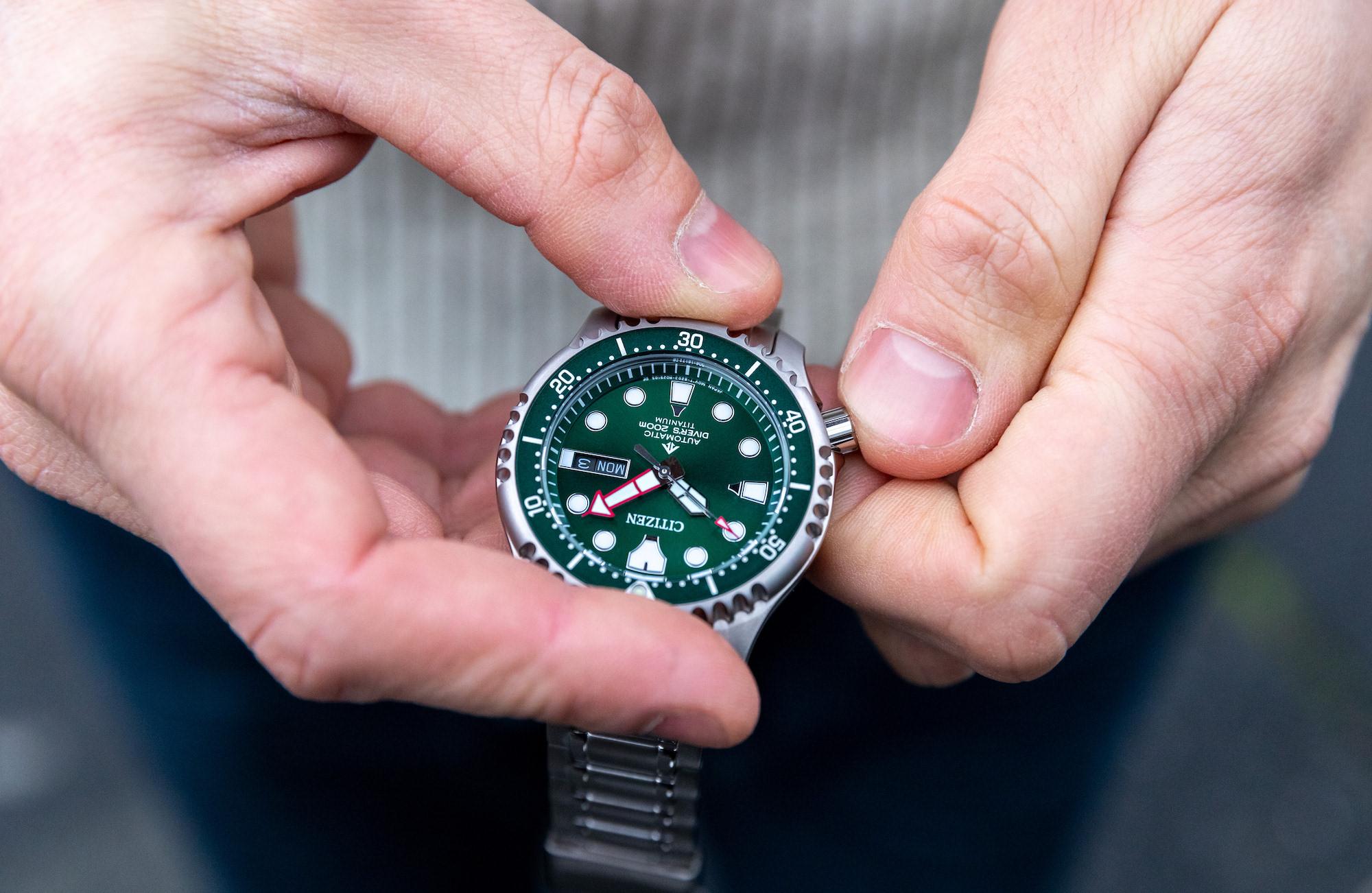Citizen Promaster Diver s NY0100-50XE super titanium