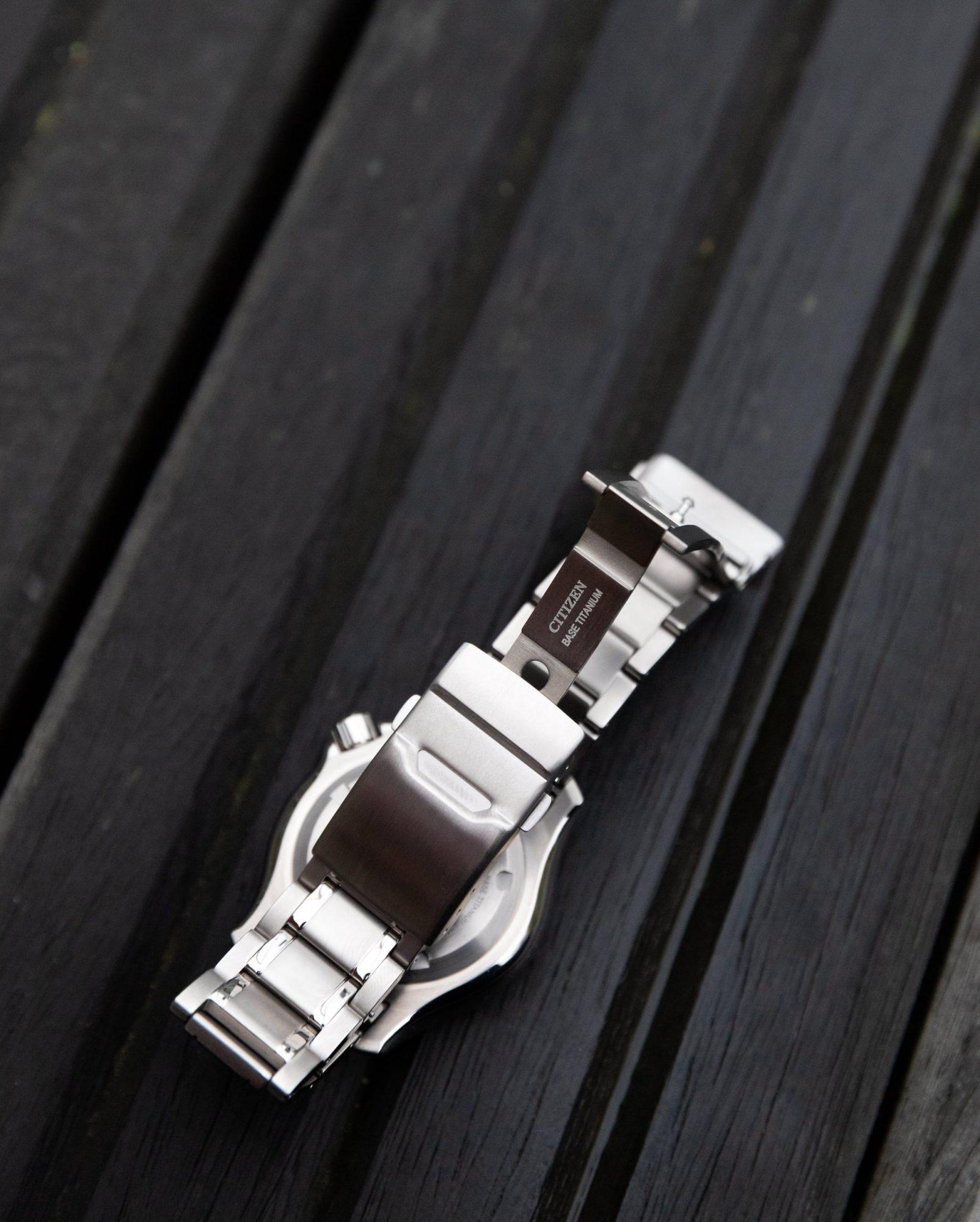 bracelet montre titane
