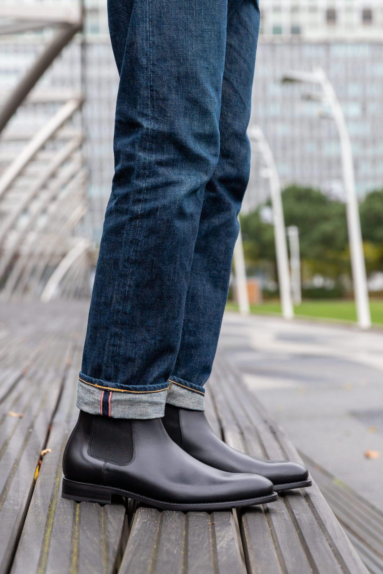 chelsea homme avec jean