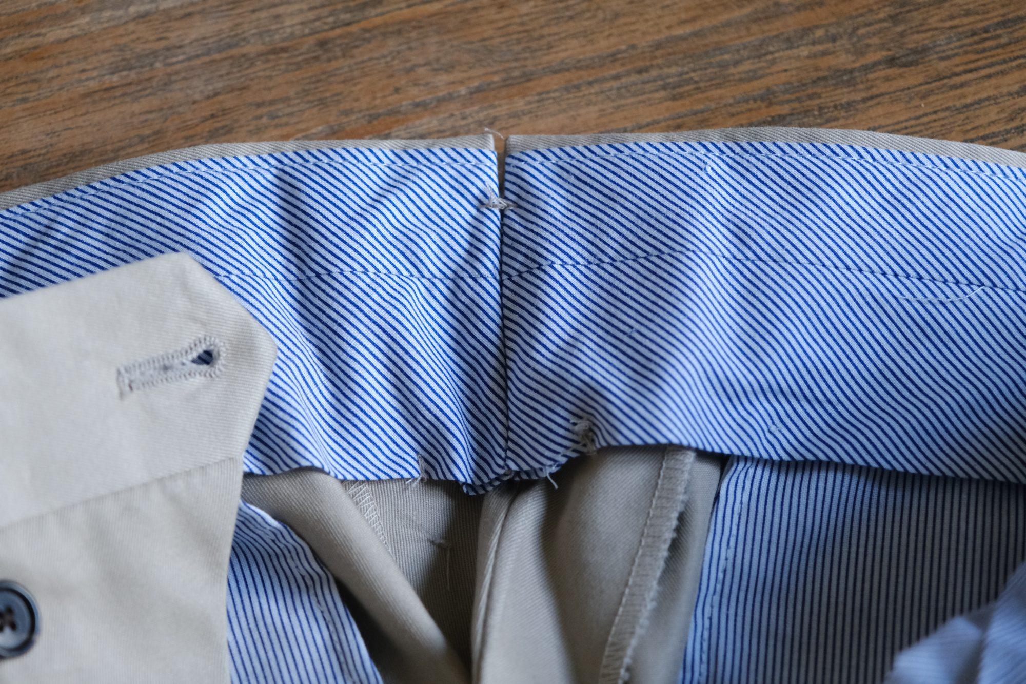 Doublure en coton intérieur