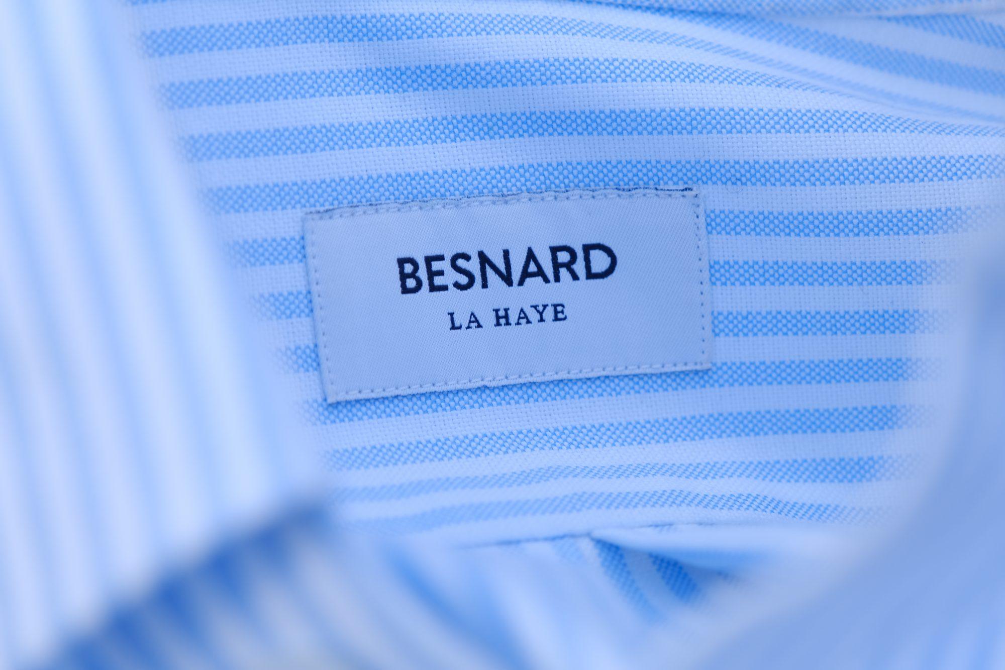 etiquette Besnard la haye chemise