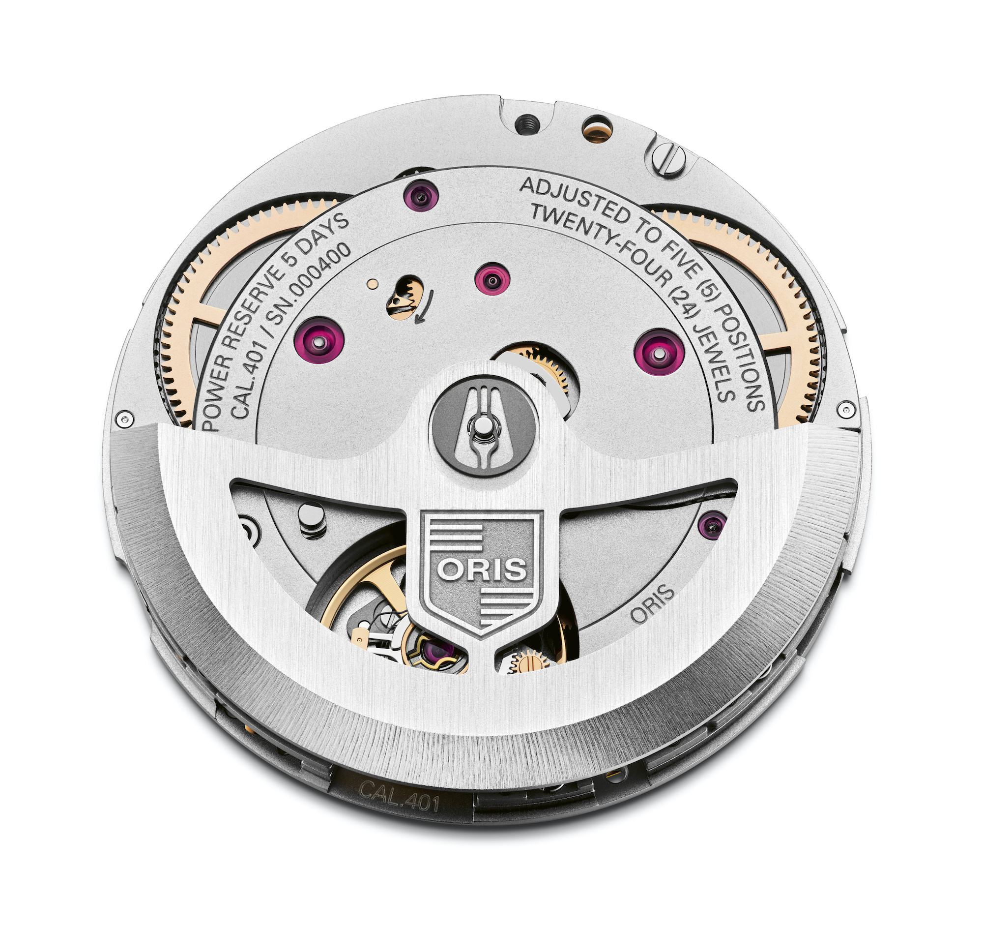 Oris movement Calibre 401