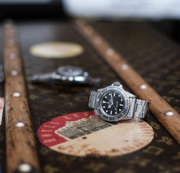 Montre Rolex Submariner 5513 meters first