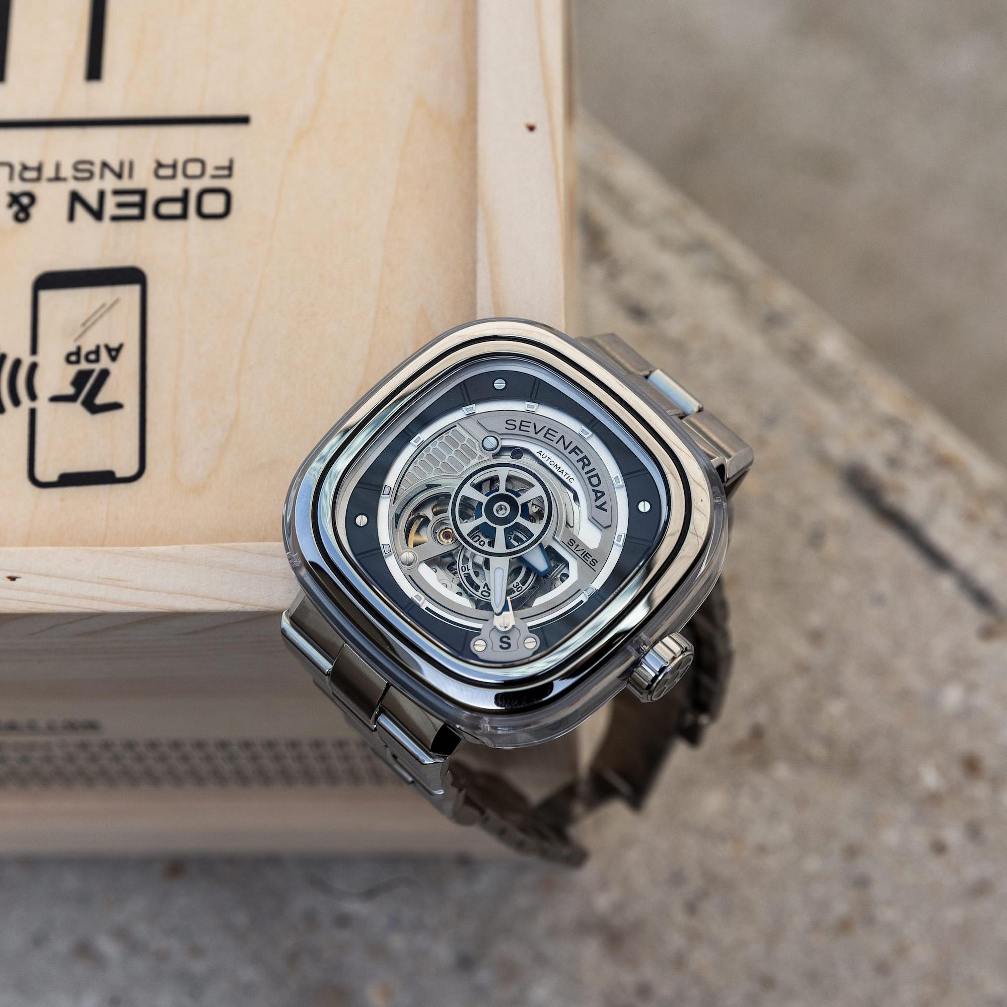 cadran Sevenfriday S-Series S1:01M
