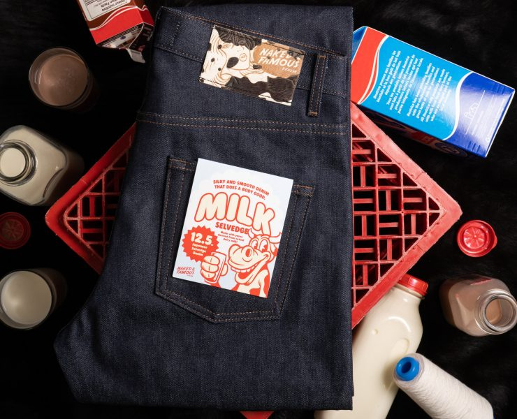 naked famous Milk Selvedge
