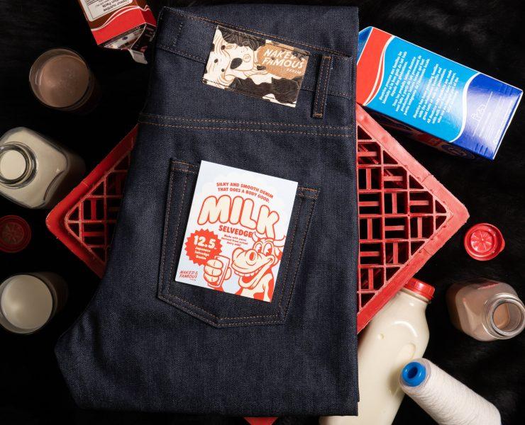 naked famous Milk Selvedge