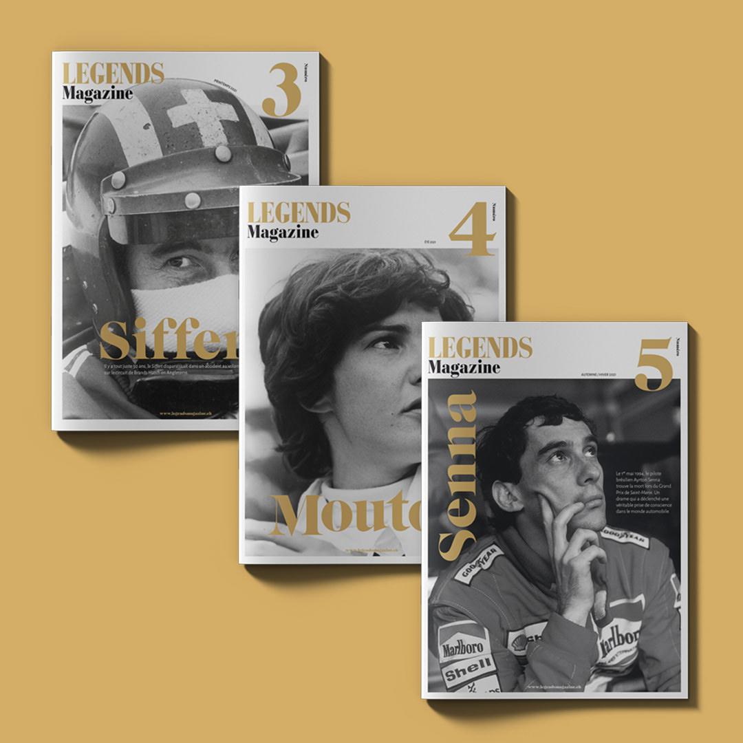 Legends magazine
