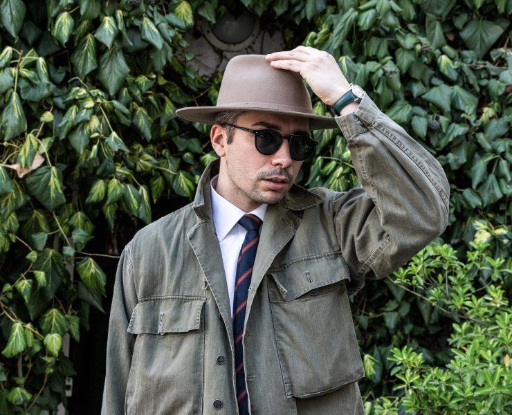 Look homme chapeau