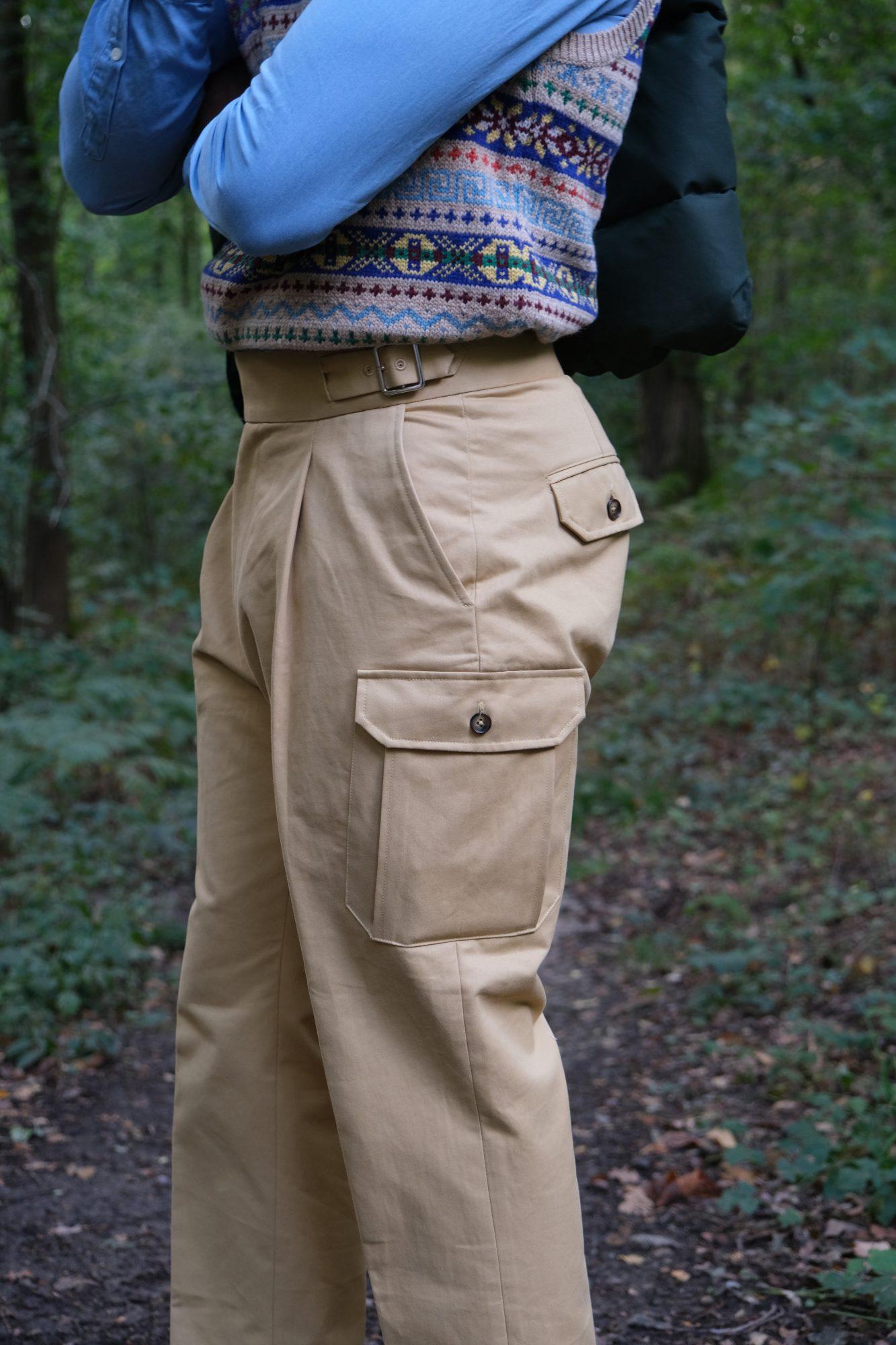 pantalon abensia poche cargo