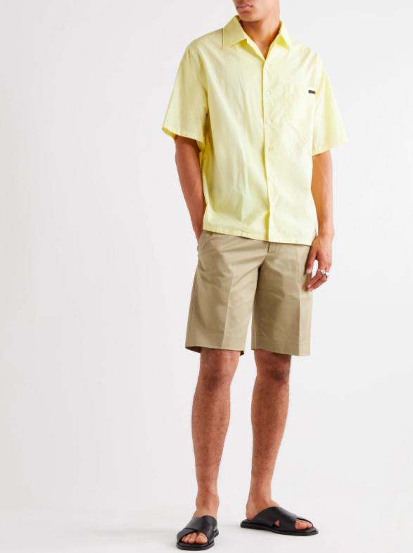Look short en coton chemisette Mr Porter