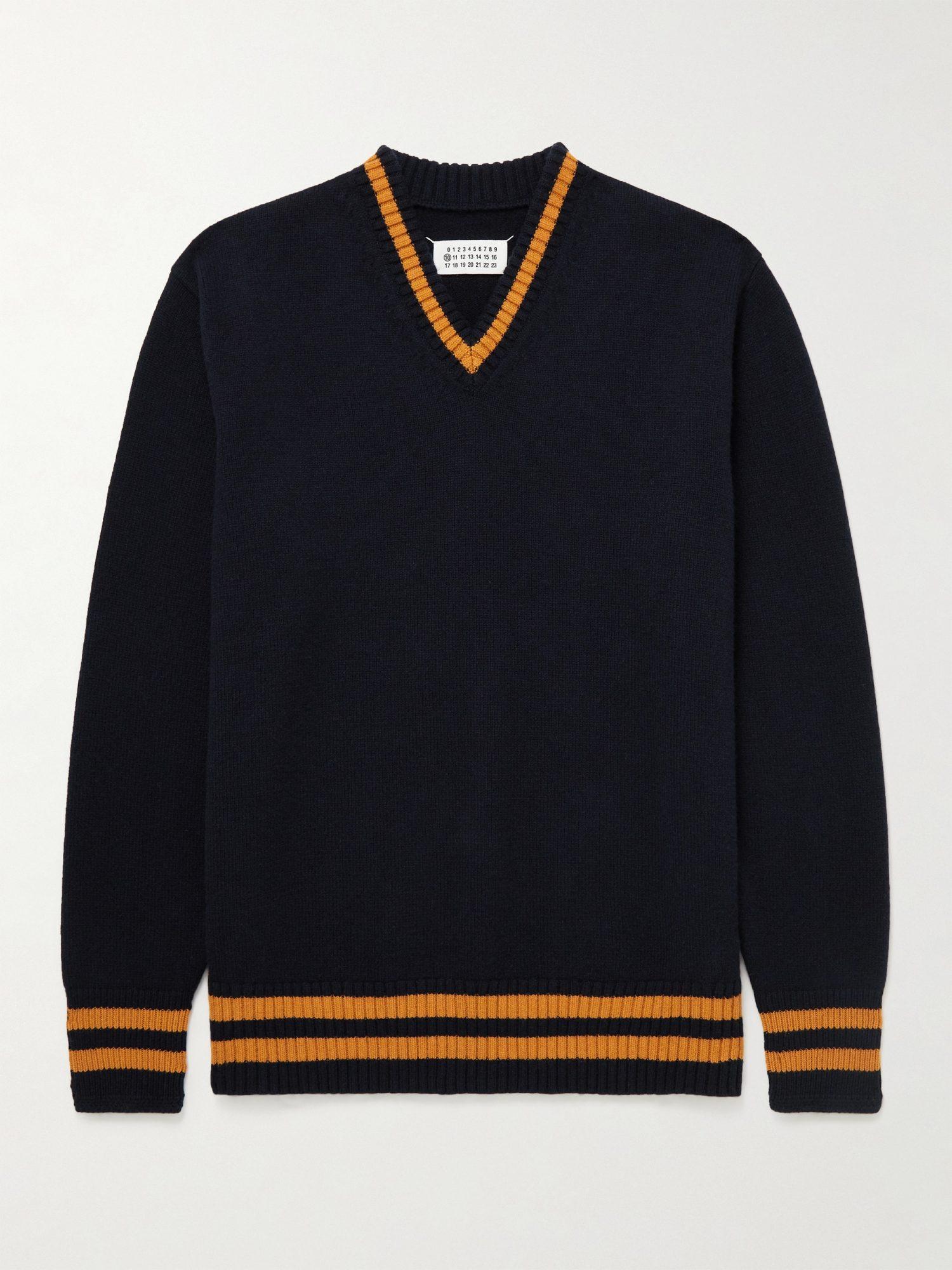 margiela v sweater